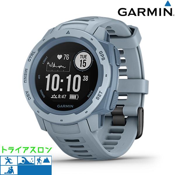 【10日はさらに+4倍で店内ポイント最大53倍】 ガーミン GARMIN Instinct GPS アウトドアウォッチ 010-02064-62 デジタル メンズ 腕時計 シーフォーム【】