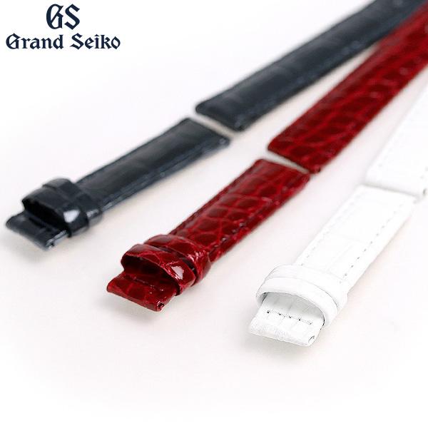 グランドセイコー 交換用ベルト クロコダイル 15mm R4J15 GRAND SEIKO 選べるベルト