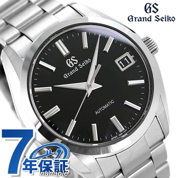 グランドセイコー 9Sメカニカル メンズ 腕時計 SBGR309 GRAND SEIKO ブラック 時計
