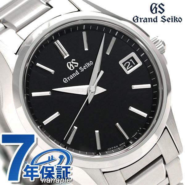 グランドセイコー 9Fクオーツ 39mm メンズ 腕時計 SBGV215 GRAND SEIKO ブラック 時計