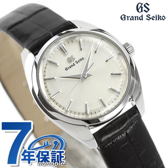 グランドセイコー 4Jクオーツ STGF337 セイコー 腕時計 レディース 26.5mm GRAND SEIKO 革ベルト アイボリー 時計