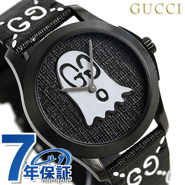 c2a397dd4db Gucci clock G thymeless ghost 40mm unisex men gap Dis watch YA1264018 GUCCI