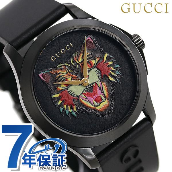 93c116cc32a Gucci clock G thymeless 40mm unisex men gap Dis watch YA1264021 GUCCI