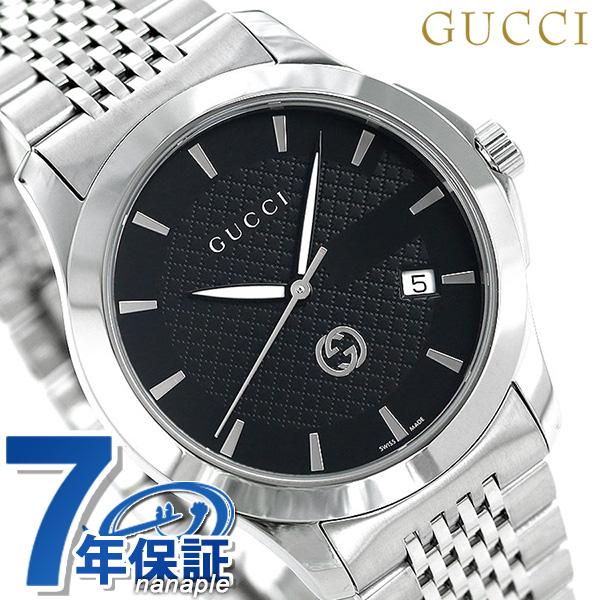 グッチ 時計 Gタイムレス 40mm メンズ 腕時計 YA1264106 GUCCI ブラック 内祝 就職祝 粗品 売れ行き好調