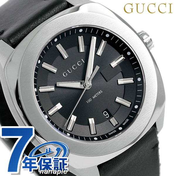 c81dc04a96f nanaple  Gucci clock men GUCCI watch GG2570 collection 44mm black ...