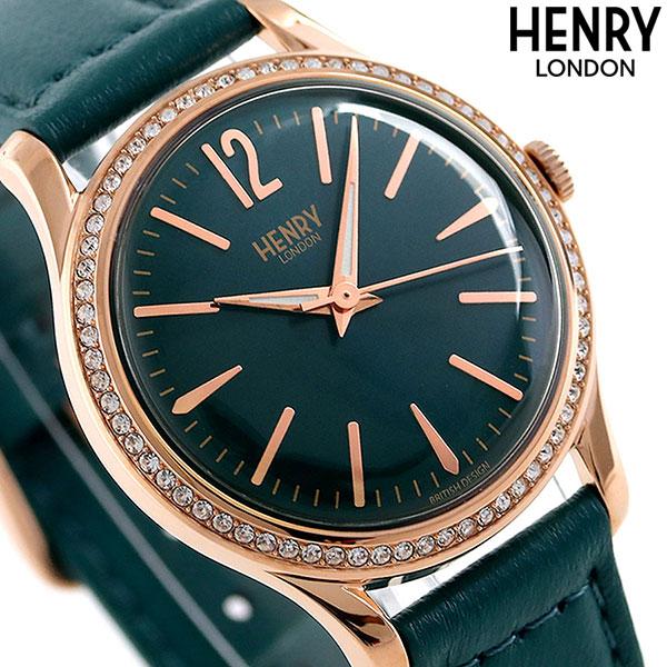 ヘンリーロンドン HENRY LONDON 34mm レディース HL34-SS-0206 腕時計 ストラトフォード 時計【あす楽対応】