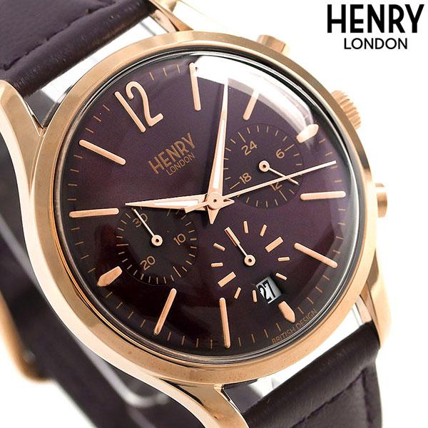 ヘンリーロンドン HENRY LONDON 39mm HL39-CS-0092 クロノグラフ 腕時計 HL39-CS-0092 腕時計 HENRY ハムステッド 時計【あす楽対応】, 快眠サロン:bd5b0245 --- cadf.djomani.fr