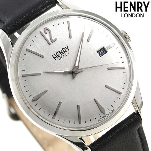 ヘンリーロンドン HENRY LONDON ピカデリー 39mm HL39-S-0075 腕時計 シルバー 時計
