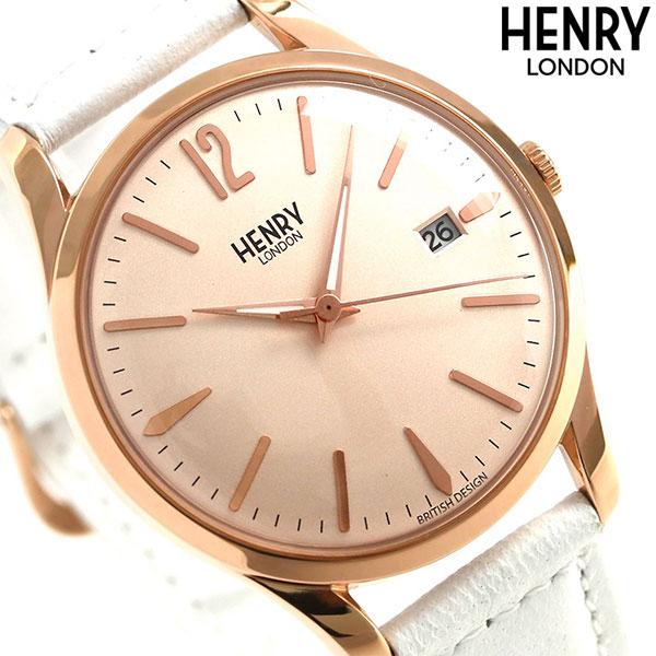 ヘンリーロンドン HENRY LONDON ピムリコ 39mm HL39-S-0112 腕時計 ローズゴールド 時計