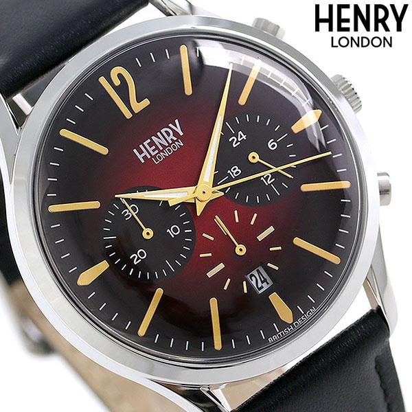 ヘンリーロンドン HENRY LONDON 41mm クロノグラフ メンズ HL41-CS-0099 腕時計 チャンスリー 時計