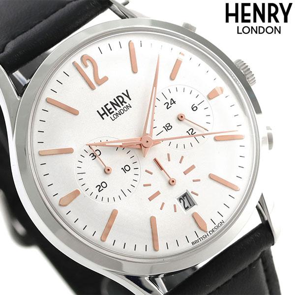ヘンリーロンドン HENRY LONDON クロノグラフ 41mm メンズ HL41-CS-0011 腕時計 ハイゲート 時計