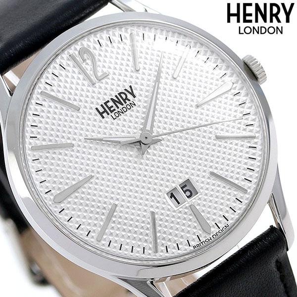 ヘンリーロンドン HENRY LONDON エッジウェア 41mm メンズ HL41-JS-0021 腕時計 シルバー 時計