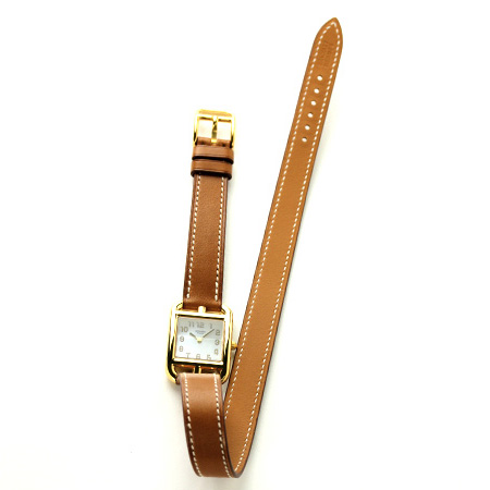 CC1.285.212/VBA1 HERMES Hermes Cape Cod two folds winding Lady's watch new article