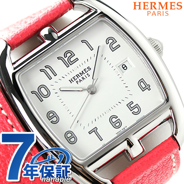 Two folds of CT1.710.130/OOA52 HERMES エルメスケープコッドトノー 34mm roll Lady's watch new article