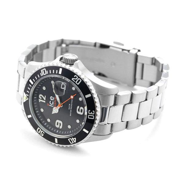 Ice watch ICE WATCH ice steel black medium 016031 watch metal belt clock d0c711d0af8