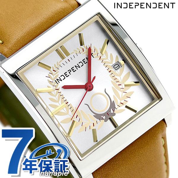 インディペンデント 戦国BASARA 徳川家康 腕時計 BQ1-417-16 INDEPENDENT シルバー×イエロー 時計