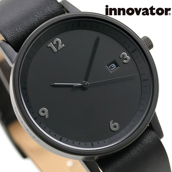 イノベーター 限定モデル ボールド 38mm オールブラック IN-0001-13 Innovator 腕時計 革ベルト 時計【あす楽対応】