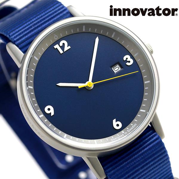 イノベーター ボールド 38mm クオーツ 腕時計 IN-0001-5 Innovator ブルー 時計