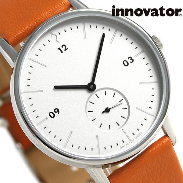 イノベーター モダン 38mm スモールセコンド 革ベルト IN-0002-1 Innovator 腕時計 時計