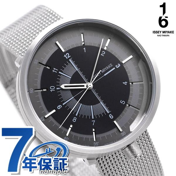 イッセイミヤケ 1/6 ワンシックス 田村奈緒 日本製 メンズ 腕時計 NYAK002 ISSEY MIYAKE ブラック
