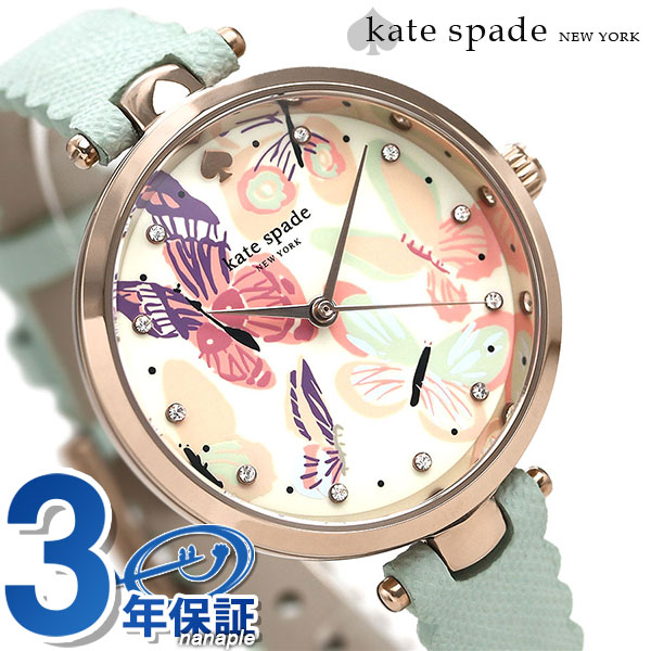 ケイトスペード 時計 レディース KATE SPADE NEW YORK 腕時計 ホーランド 34mm 蝶 KSW1414