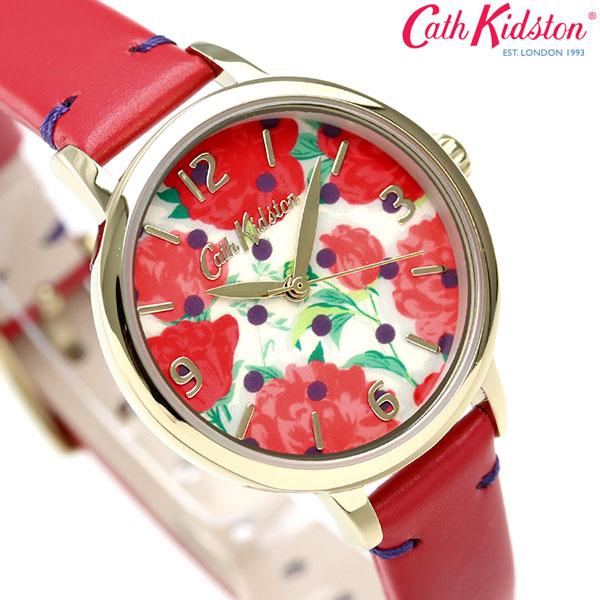 キャスキッドソン Cath Kidston ピオニー スポット 31mm CKL031R レディース 腕時計 時計【あす楽対応】