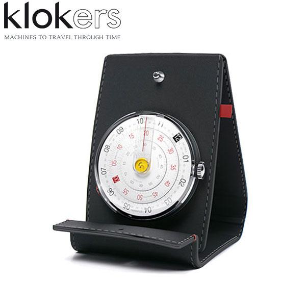 クロッカーズ おしゃれ KLOK01 ディスクウォッチ 時計本体+時計スタンドセット 置き時計 シンプル 正規品