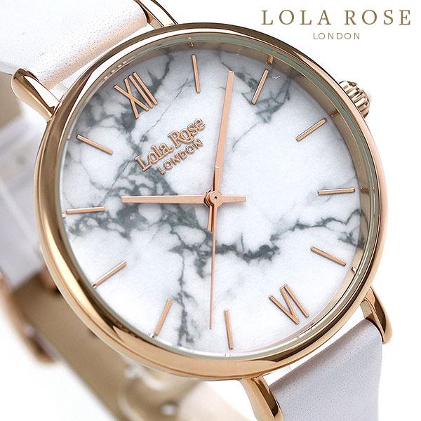 Lola Rose ローラローズ 38mm ホワイトハウライト レディース 腕時計 LR2022 ホワイト 時計【あす楽対応】