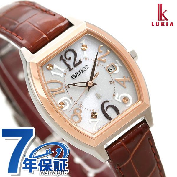 セイコー ルキア SEIKO LUKIA レディース 腕時計 トノー 電波ソーラー SSVW094 綾瀬はるか 時計【あす楽対応】