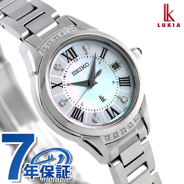 セイコー ルキアヤセ 綾瀬はるか 限定モデル レディダイヤ SEIKO LUKIA SSVW115 レディース 腕時計 時計【あす楽対応】