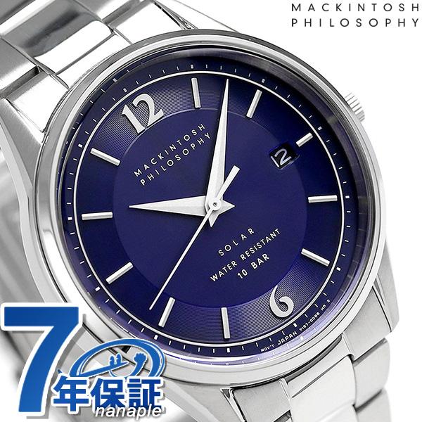 マッキントッシュ フィロソフィー ソーラー メンズ 腕時計 FBZD993 ブルー 時計