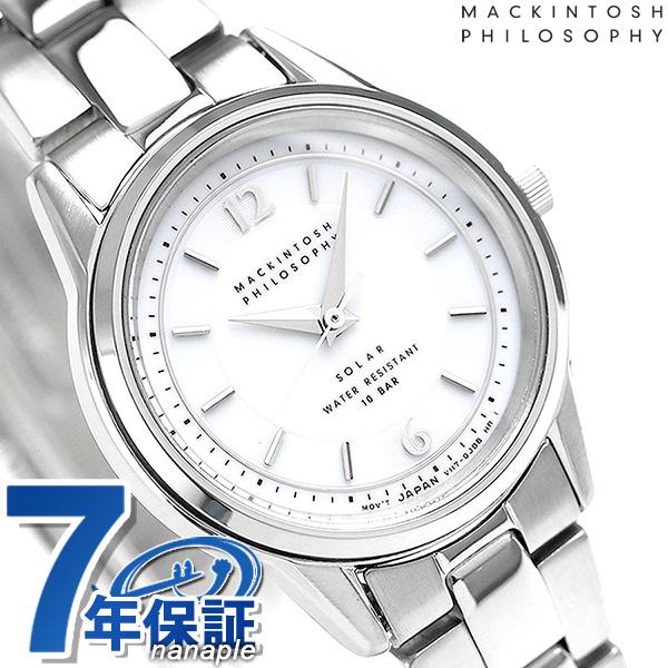 マッキントッシュ フィロソフィー ソーラー レディース FDAD992 腕時計 ホワイト 時計