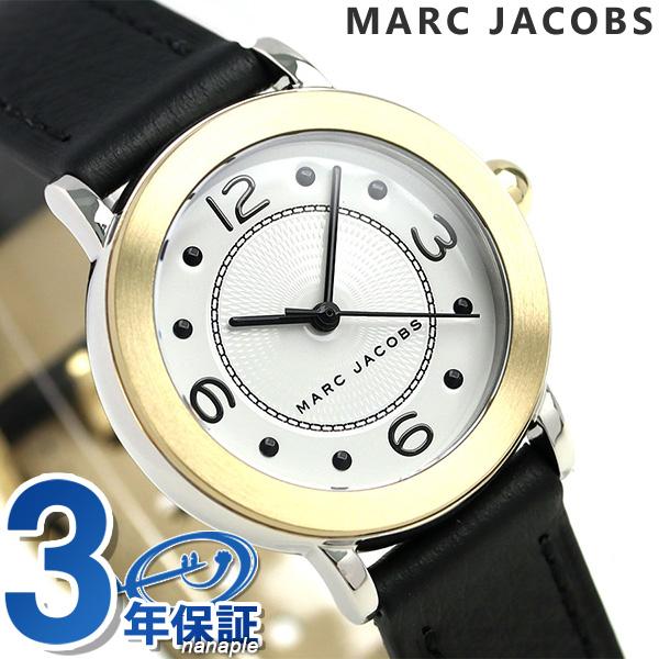 マークジェイコブス 時計 ライリー 28mm レディース 腕時計 MJ1516 MARC JACOBS ホワイト×ブラック