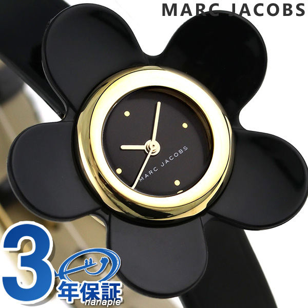 マークジェイコブス 時計 レディース デイジー 20mm 花 フラワー MJ1593 MARC JACOBS 腕時計 革ベルト【あす楽対応】