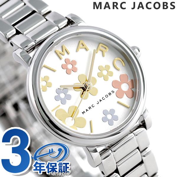 マークジェイコブス 時計 レディース クラシック ロキシー 28mm 花柄 フラワー MJ3581 MARC JACOBS 腕時計【あす楽対応】