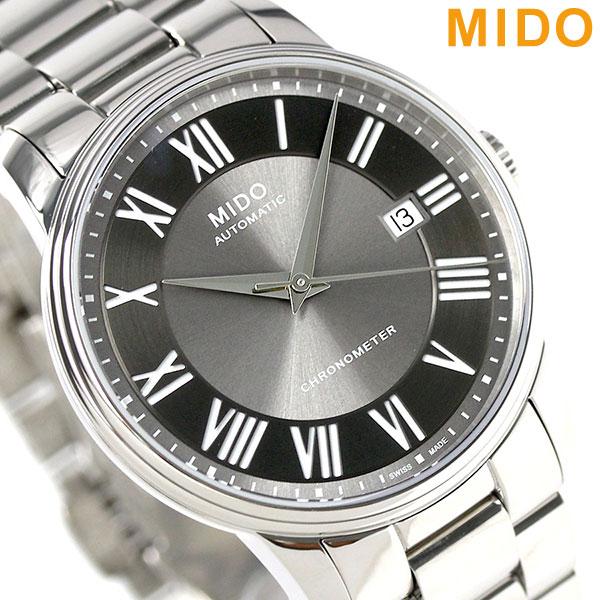 MIDO ミドー バロンチェッリ 39MM 自動巻き メンズ 腕時計 M010.408.11.063.09 グレーシルバー 時計