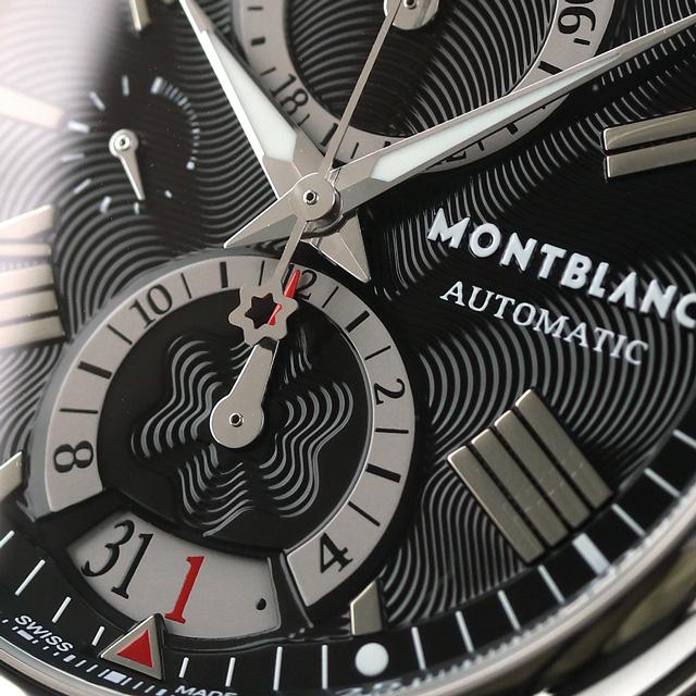 99951e61bcf ... 102376 Mont Blanc star 41810 chronograph self-winding watch men  MONTBLANC watch black clocks ...