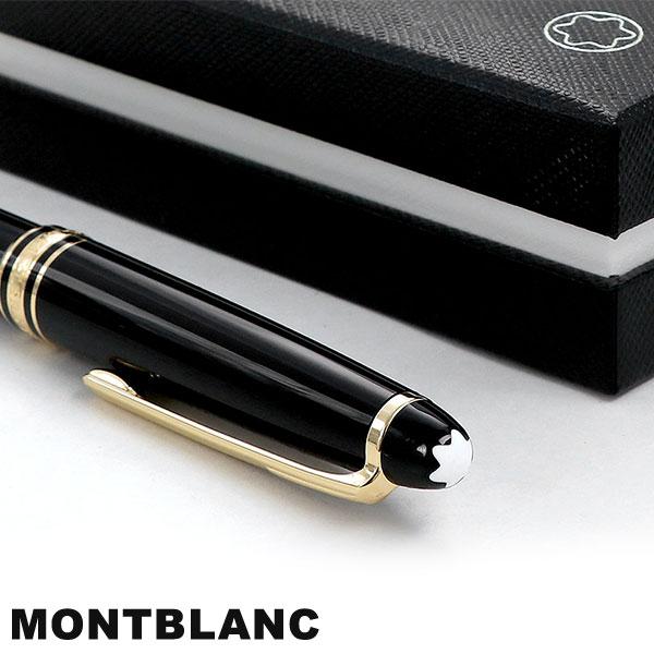 Mont Blanc ball-point pen black black 10883 high quality writing implements  MONTBLANC マイスターシュテュックゴールドクラシック