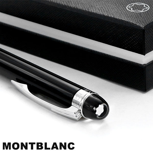 d519ea47537 Mont Blanc ball-point pen black black 8486 high quality writing implements MONTBLANC  star Walker platinum resin