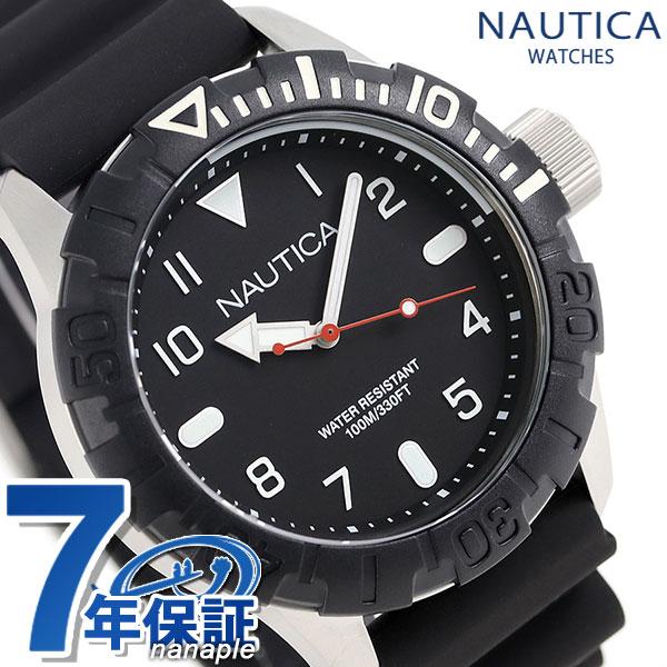 ノーティカ NSR106 クオーツ メンズ 腕時計 NAD09519G NAUTICA ブラック 時計【あす楽対応】