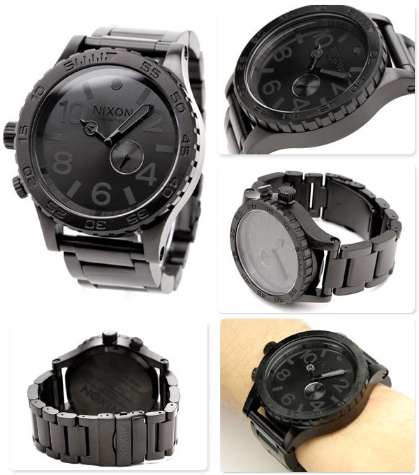 尼克松A057001 nixon尼克松51-30手表ALL BLACK全部黑色