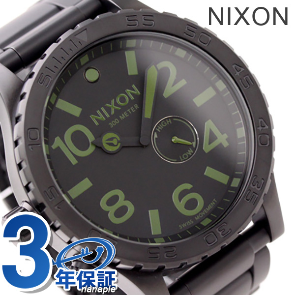 Nixon A0571042 nixon Nixon 51-30 watch mat black / surplus
