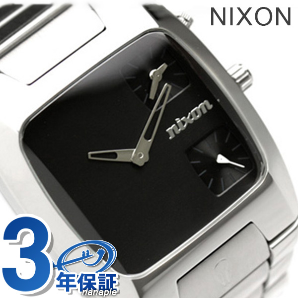 Nixon A060000 nixon Nixon watch Bankes BLACK (black)