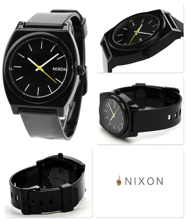 nixon Nixon watch The Time Teller P A119 thyme Teller P BLACK black