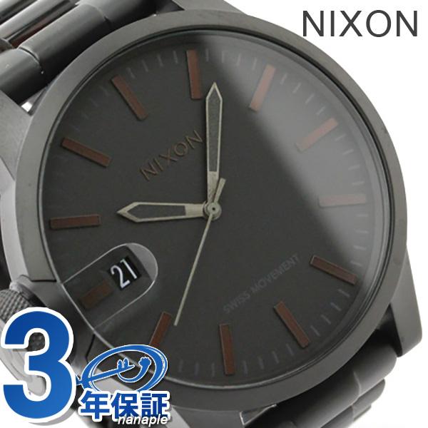 尼克松A1981061 nixon尼克松克洛尼克尔SS手表垫子黑色/dakutotoizu THE CHRONICLE SS