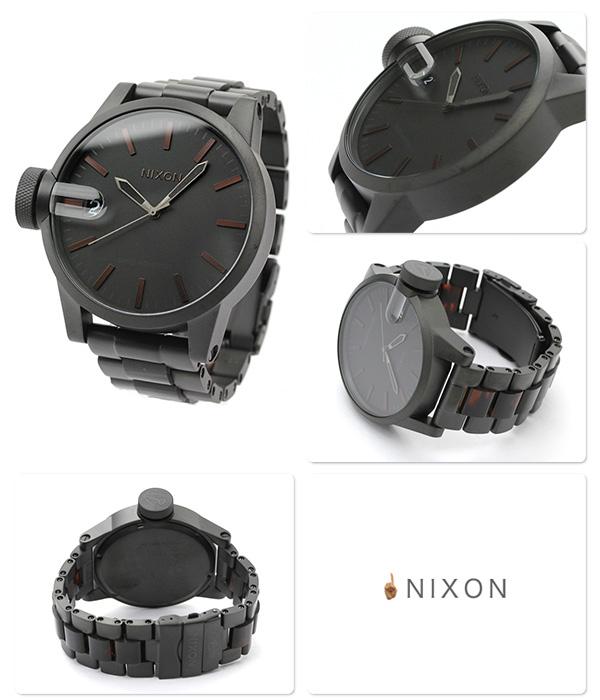 尼克鬆A1981061 nixon尼克鬆克洛尼克爾SS手錶墊子黑色/dakutotoizu THE CHRONICLE SS