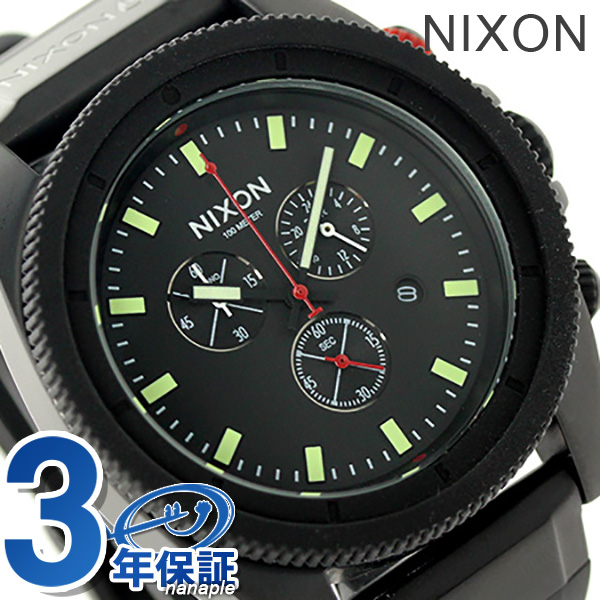 Nixon A290760 nixon Nixon Rover men watch oar black / red