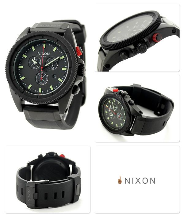 尼克松A290760 nixon尼克松低酒吧人手表全部黑色/红