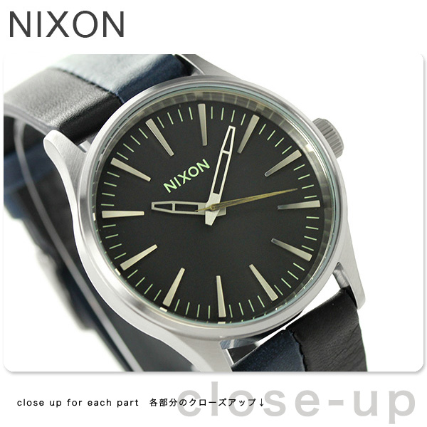 Nixon A3771938 nixon Nixon Sentry 38 watch black / Navy / Black