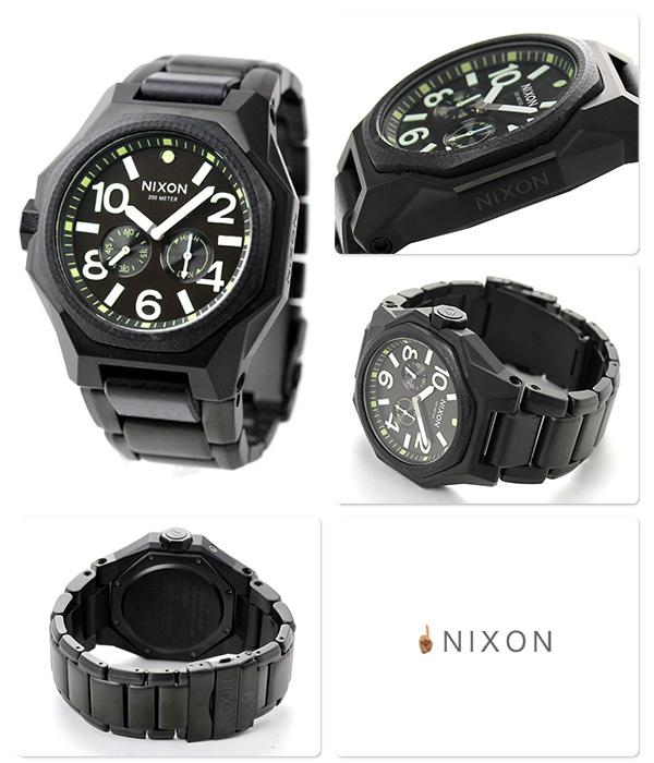 尼克松A3971042 nixon尼克松正切20气压防水人手表垫子黑色/盈余